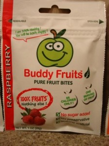 Buddy Fruits Pure Fruit Bites Raspberry
