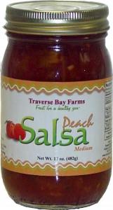 Traverse Bay Farms Peach Salsa