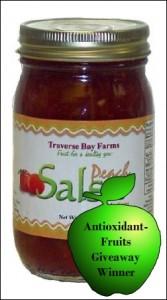 Winner of November 2010 Antioxidant-fruits.com Giveaway: Traverse Bay Farms Peach Salsa