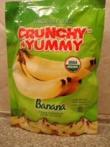 Crunchy N Yummy Organic Freeze Dried Fruit Banana