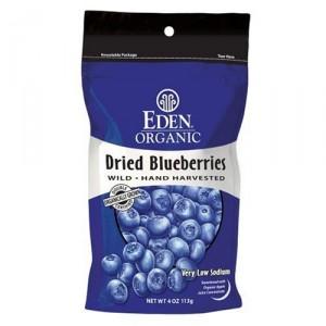 Eden Organic Dried Wild Blueberries