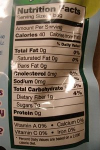 Brothers-ALL-Natural Donald Duck Pear Crisps nutrition facts