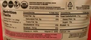 Navitas Naturals Organic Goji Berries Himalayan Superfruit nutrition facts