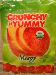 Crunchy N Yummy Organic Freeze Dried Fruit Mango