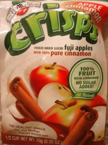 Brothers-ALL-Natural Apple Cinnamon Crisps