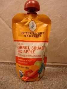 Peter Rabbit Organics, Carrot, Squash and Apple Puree