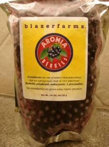 blazerfarmz Fresh-Frozen Aroniaberries