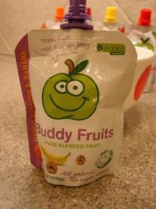 Mango Passion & Banana Buddy Fruits Pure Blended Fruit To Go