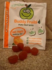 Buddy Fruits Pure Fruit Bites Orange
