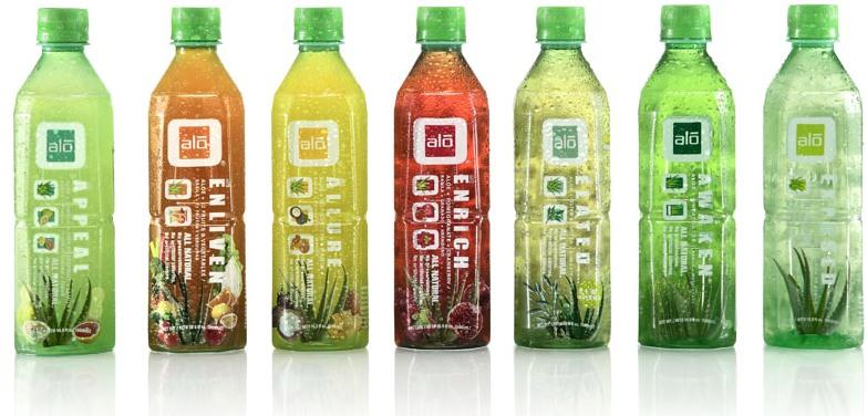 ALO Drink Group Shot