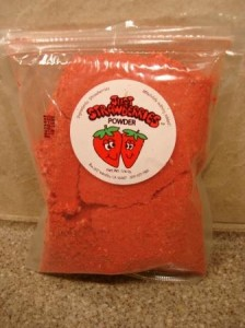 Just Tomatoes Just Strawberries Freeze Dried Strawberry Powder