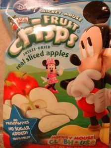 Brothers-ALL-Natural Mickey Mouse Apple Crisps