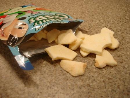 Brothers-ALL-Natural Mickey Mouse Apple Crisps out of package