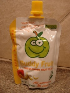 Buddy Fruits Pure Blended Fruit To Go Apple and Banana