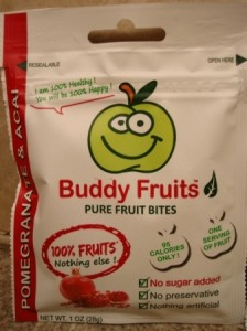 Buddy Fruits Pure Fruit Bites Pomegranate and Acai