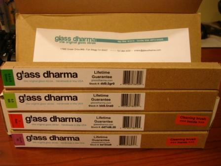 GlassDharma Ships Well