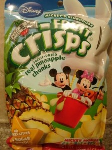 Brothers-All-Natural Mickey Mouse Clubhouse Pineapple Crisps