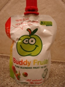 Buddy Fruits Pure Blended Fruit To Go Apple and Multifruit