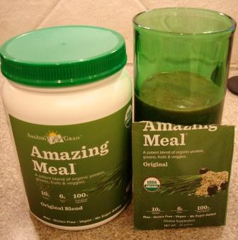 Amazing Meal Original Blend with smoothie