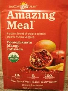 Amazing Grass Amazing Meal Pomegranate Mango Infusion