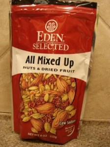 Eden Foods All Mixed Up Organic Dried Fruit and Nuts
