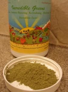 Incredible Greens powder