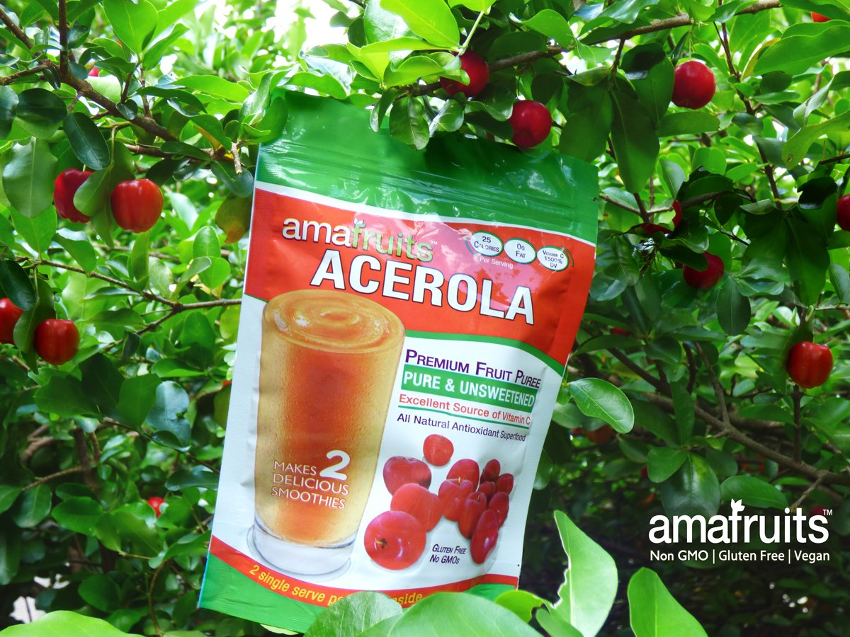 Amafruits Acerola Organic Fruit 10 Bag Bundle 3