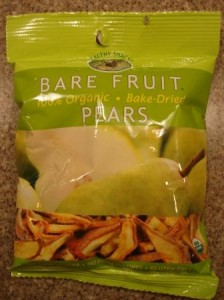 Bare Fruit Organic Dried Pears Product Review