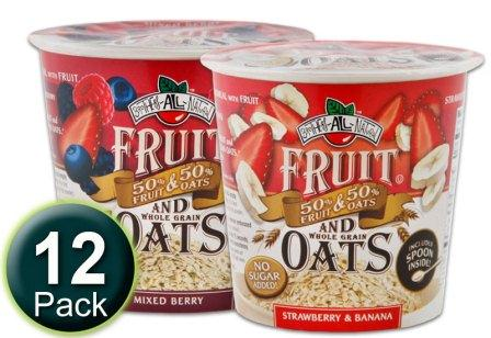 Brothers All Natural fruit & oats