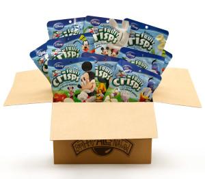 Disney Sampler Pack Fruit Crisps 1/2 c bags, 20-Pack