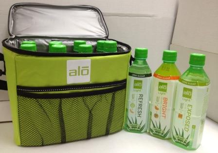 ALO Light x 8 bottles w Cooler Bag (9)