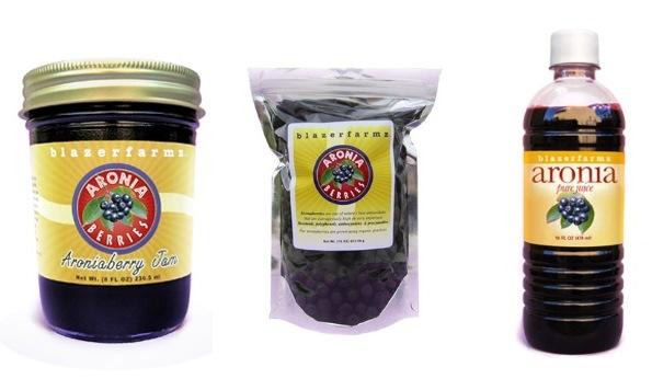 October 2013 Antioxidant-fruits.com Giveaway Aronia Berry Prize Pack from Blazerfarmz