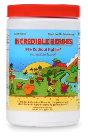 Incredible Berries, Antioxidant Red Superfood Powder