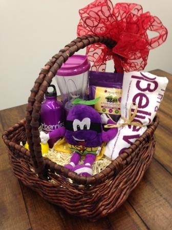 Superberries Gift Basket Giveaway February 2014