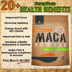 #1 Most Absorbable Certified Organic Maca Root Powder - Perfect for Men & Women - Benefits Hormone Balance, Energy, Libido,
