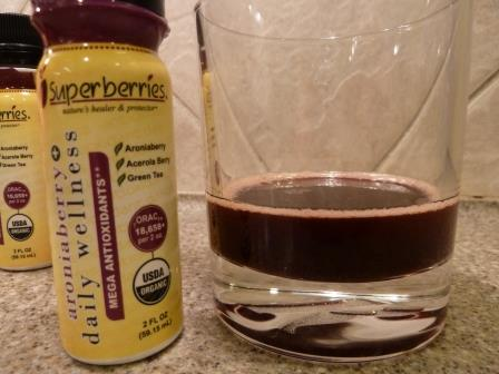 Superberries Aroniaberry Wellness Shot Review