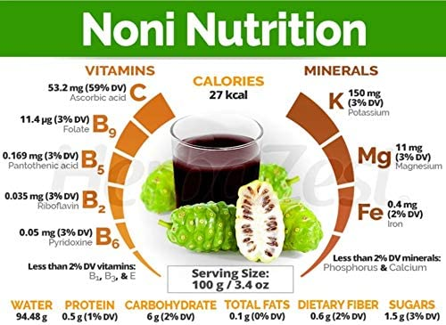 Noni Nutrition Bula Noni®- 100% Certified Organic Juice