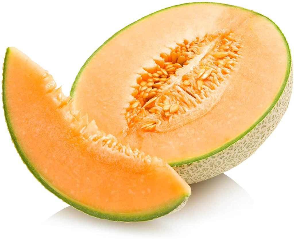 Cantaloupe Seeds for Planting Home Garden - 100 Heirloom Seeds - Hales Best Jumbo Cantaloupe