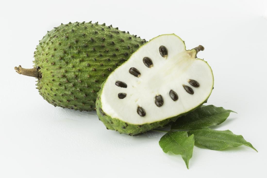 Fresh Guanabana Soursop Graviola Set Of 3 Fruits