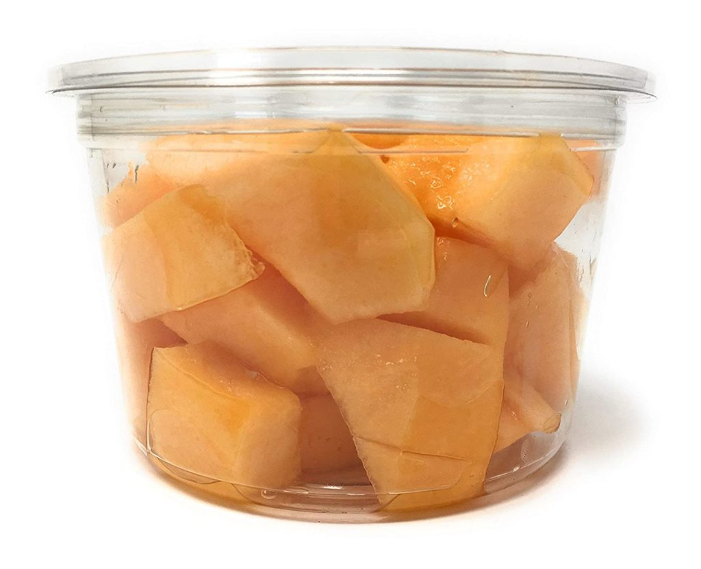 Fruit Cut Melon Cantaloupe Chunks Conventional