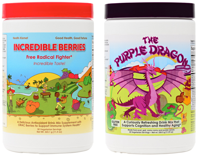 Health Kismet Incredible Berries and The Purple Dragon