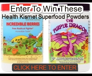 Enter to Win Superfood Powders
