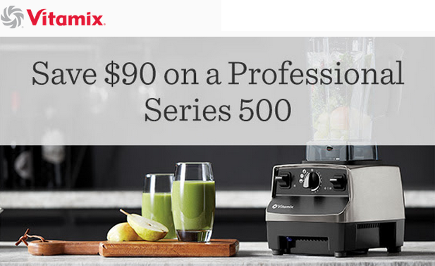 Vitamix Professional Series 500 Blender Brushed Stainless Finish Save 90