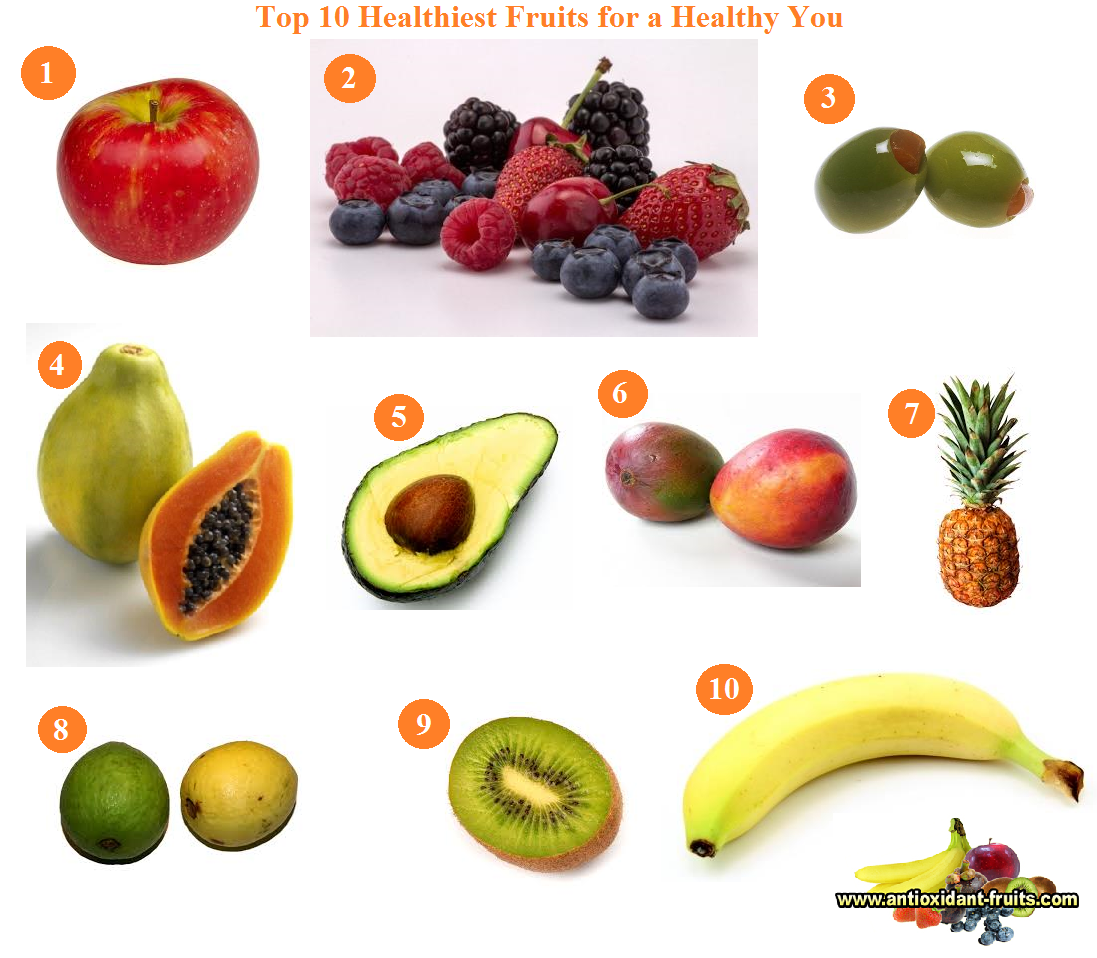 healthy fruits list the fruit guys