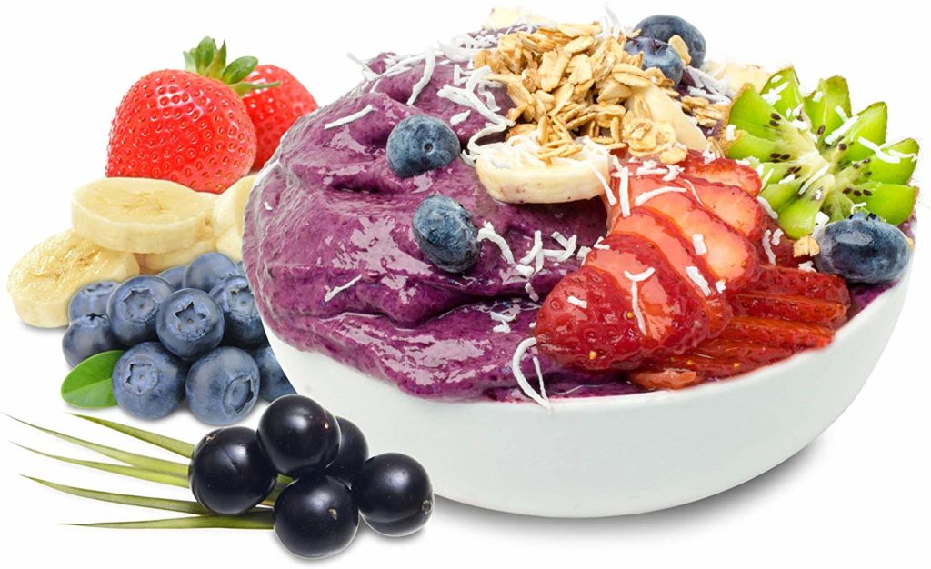 Sunfood Superfoods Acai Maqui Bowl Mix Organic