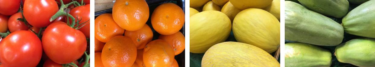 Antioxidant fruits Rainbow