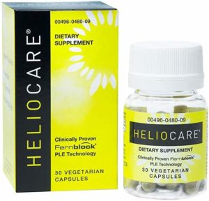 Heliocare Skin Care Dietary Supplement 240mg Polypodium Leucotomos Extract Pills