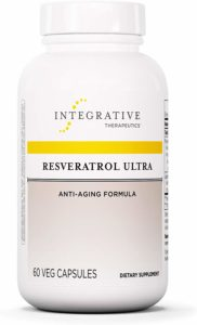 Integrative Therapeutics - Resveratrol Ultra - Anti Aging Formula - Spports Cellular Health to Reduce Oxidative Stress - 60 Capsules