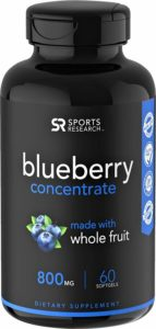 Whole Fruit Blueberry Concentrate Made from Organic Blueberries