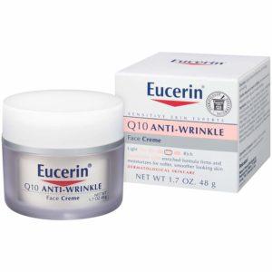 Eucerin Q10 Anti-Wrinkle Face Cream - Fragrance Free